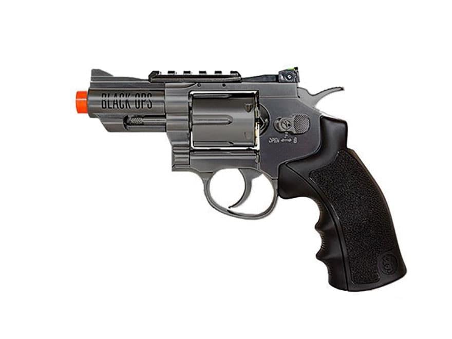 """Black Ops Exterminator Revolver 2.5"""" Barrel Air Pistol 177 Caliber BB"""