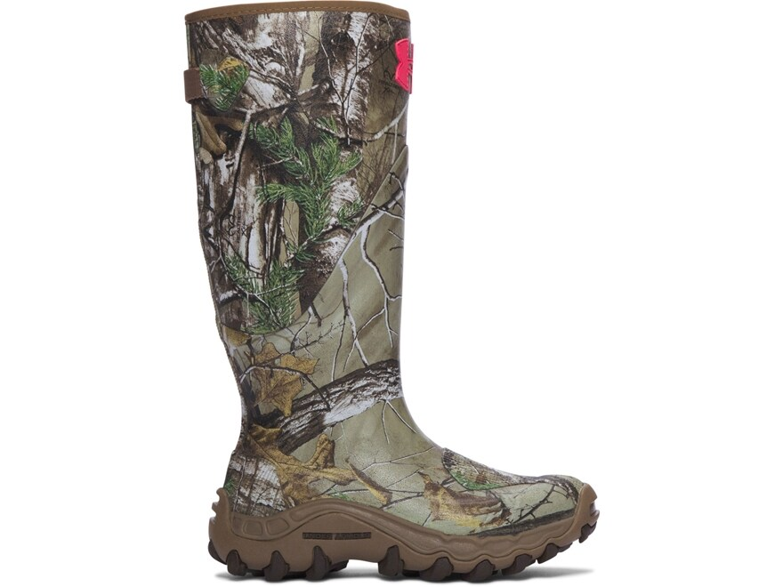 """Under Armour UA Mud Hawg 16"""" Waterproof Hunting Boots Rubber Women's"""