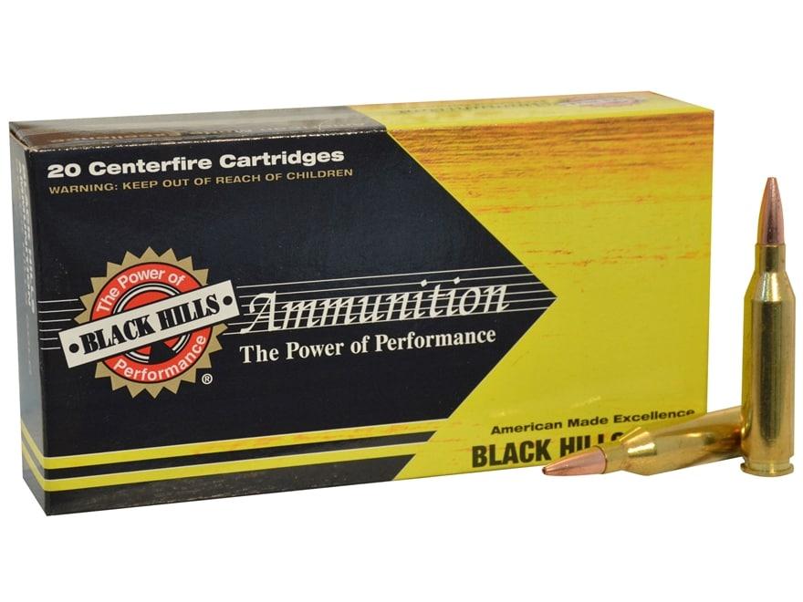 Black Hills Gold Ammunition 243 Winchester 85 Grain Barnes TSX Hollow Point Boat Tail L...