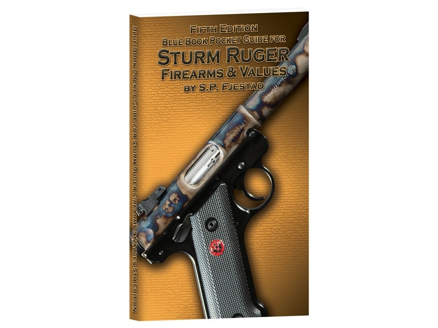 """Blue Book """"Pocket Guide for Sturm Ruger Firearms & Values 5th Edition"""" by S.P. Fjestad"""