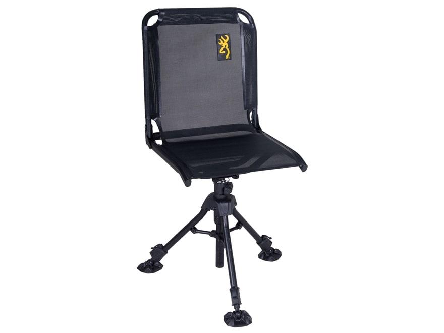 Browning Huntsman Swivel Chair Steel Black