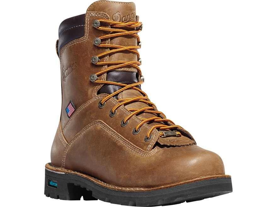 """Danner Quarry USA 8"""" Waterproof GORE-TEX 400 Gram Insulated Non-Metallic Safety Toe Wor..."""