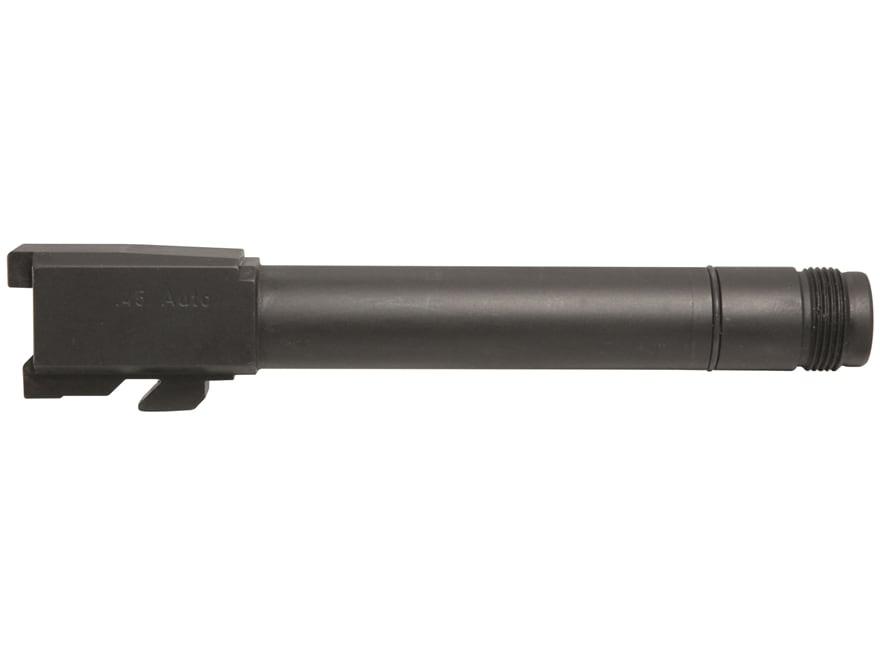 HK Barrel HK45 45 ACP 16x1 LH Threaded Muzzle Blue