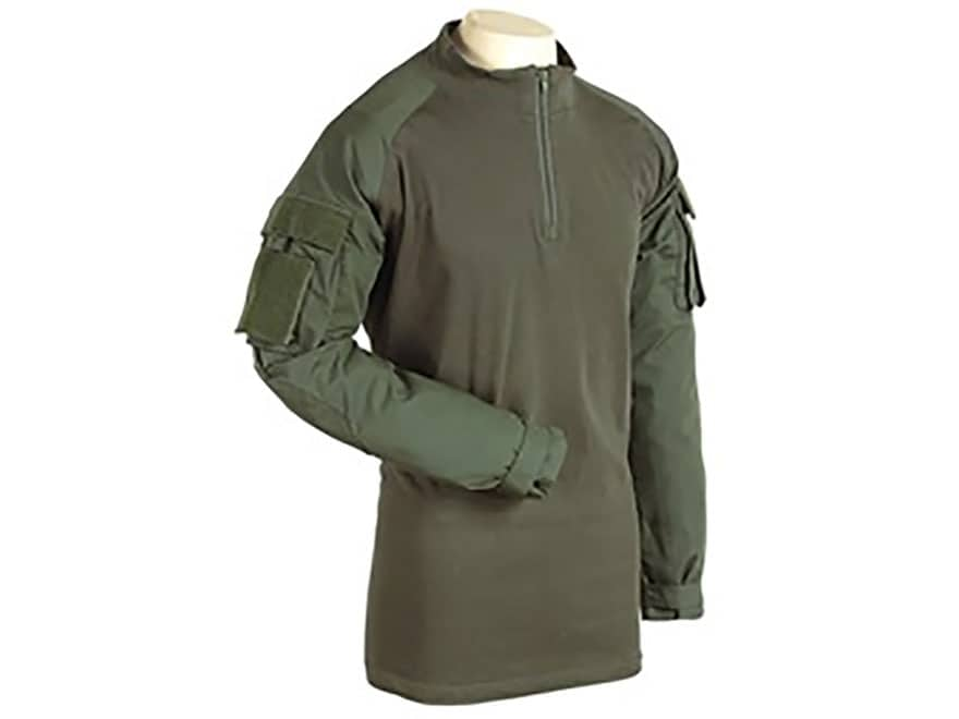 Voodoo Tactical Men's 1/4 Zip Combat Shirt Cotton/Polyester Blend