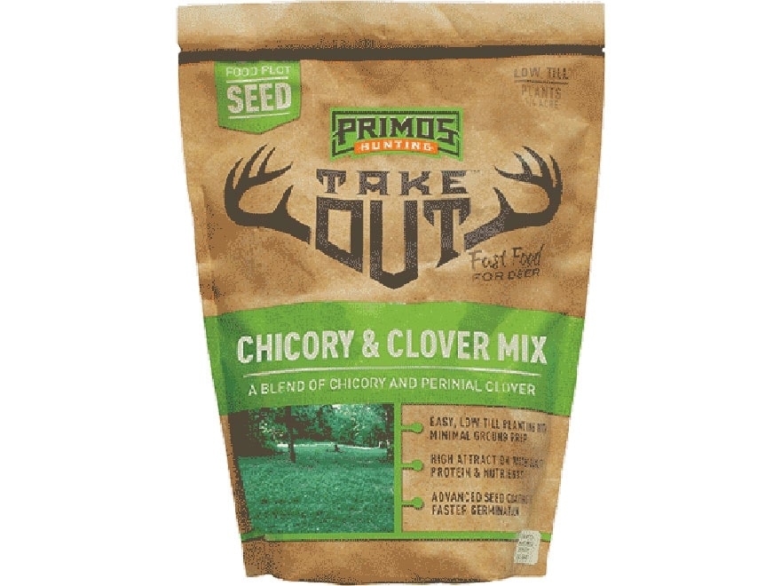 Primos Take Out Clover and Chicory Food Plot Seed 3 lbs