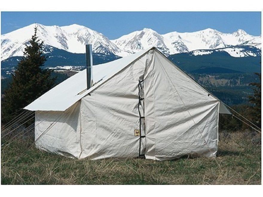 Montana Canvas 10 39 X 12 39 Wall Tent 5 Stove Jack 10oz