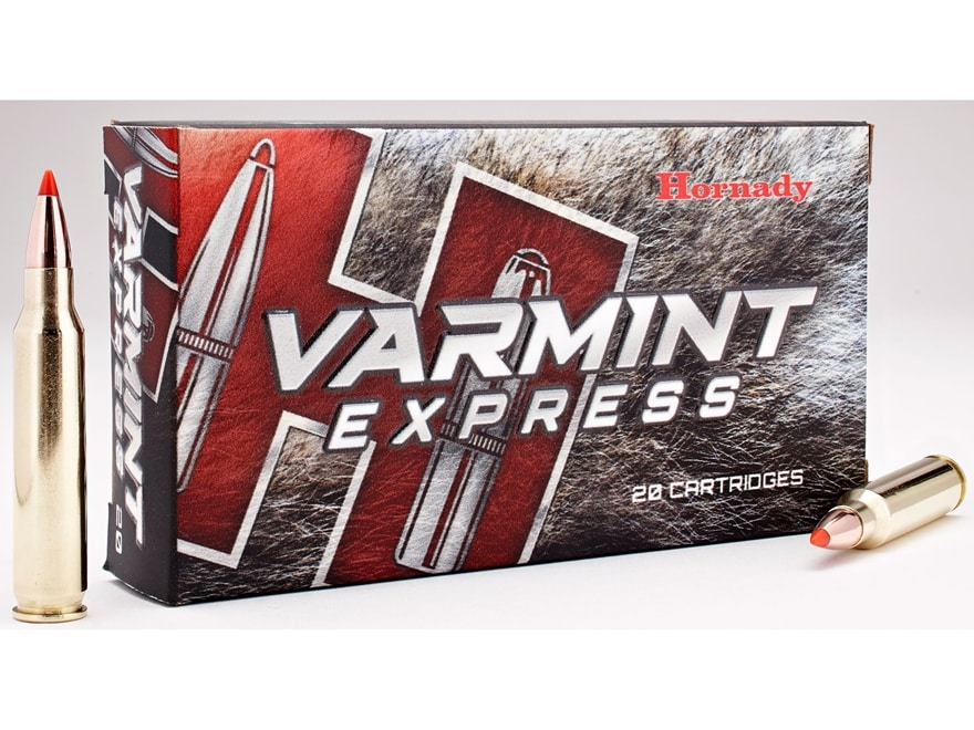 Hornady Varmint Express Ammunition 223 Remington 55 Grain V-MAX Box of 20