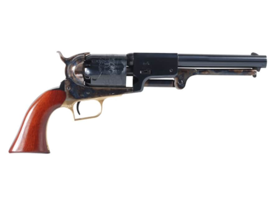 "Uberti 1848 Whitneyville Dragoon Black Powder Revolver 44 Caliber 7.5"" Barrel Steel Fra..."