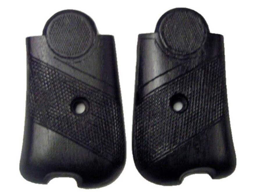 Vintage Gun Grips Bergmann Bayard 1910 9mm Luger Polymer Black