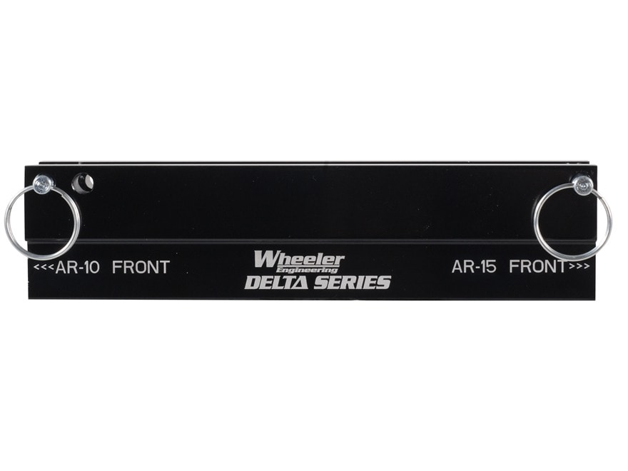 Wheeler Engineering Delta Series Upper Receiver Action Block & Picatinny Rail Vise Bloc...