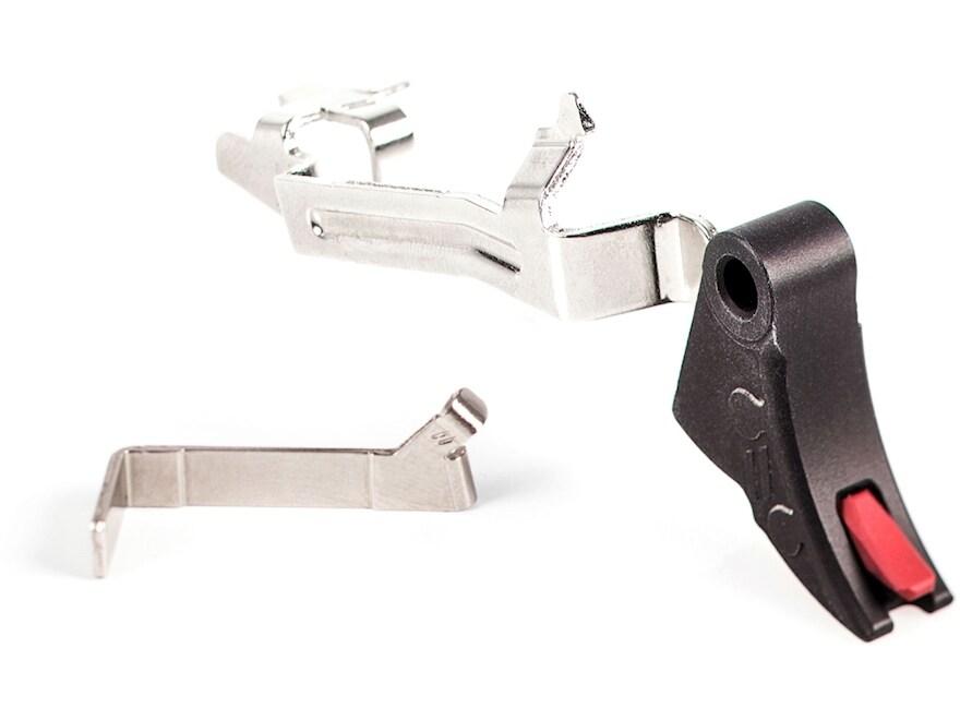 ZEV Technologies PRO Trigger with Trigger Bar Curved Face Glock 17, 19, 22, 23, 24, 26,...