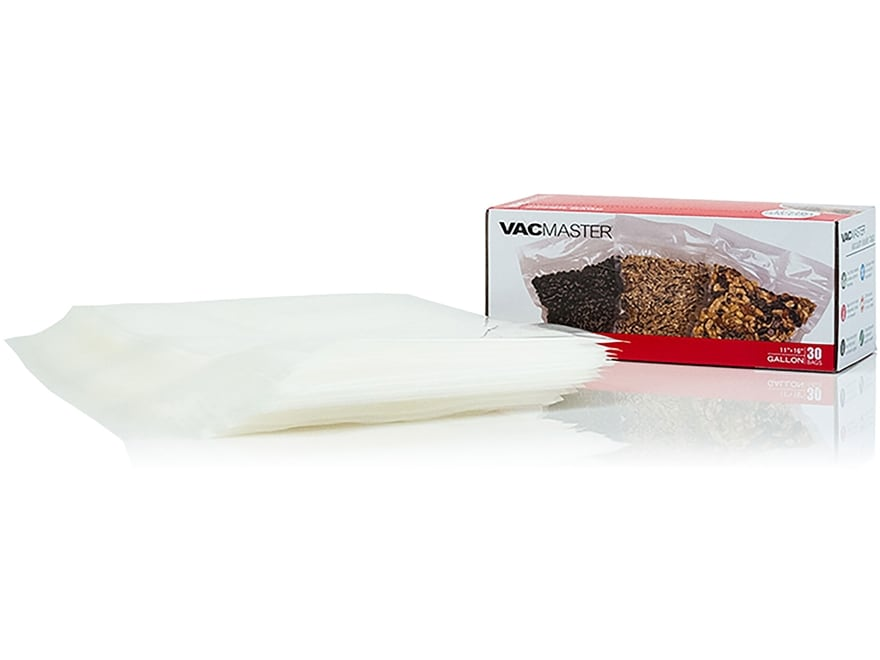 """VacMaster 11.5"""" x 14"""" Gallon Size Zipper Bag Pack of 30"""