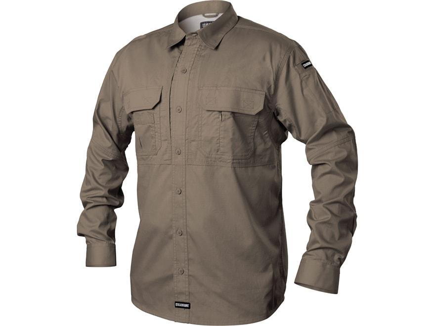 BLACKHAWK! Men's Pursuit Button-Up Shirt Long Sleeve Poly/Cotton Ripstop