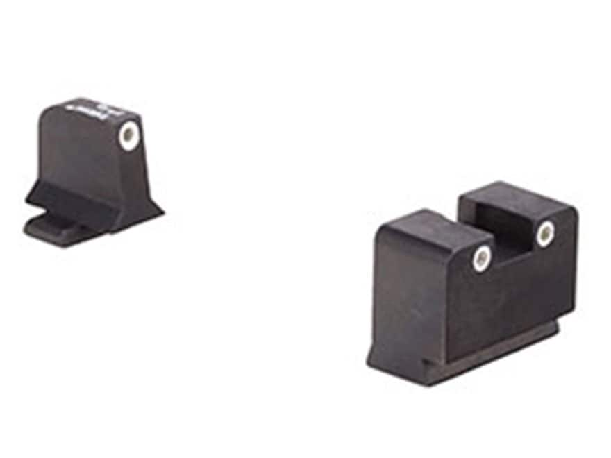 Trijicon Bright & Tough Suppressor Night Sight Set Springfield XD Steel Matte 3-Dot Tri...