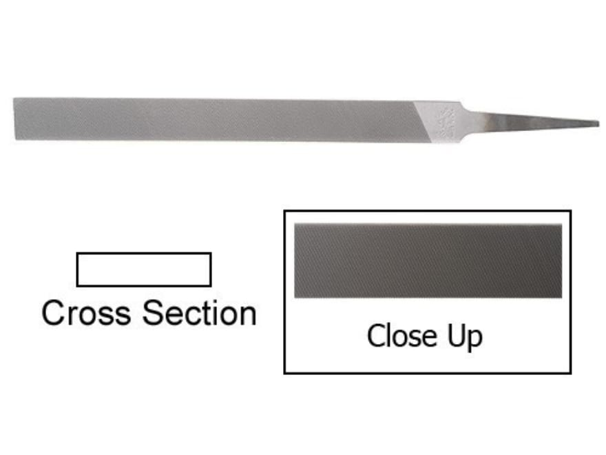 Nicholson Second Cut Flat Hand File