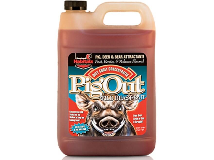 Evolved Habitats Pig Out Hog Attractant Liquid 1 Gallon