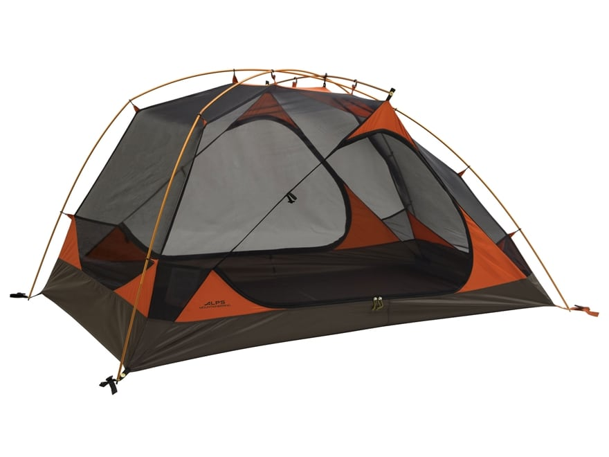 "ALPS Mountaineering Aries 3 Dome Tent 81"" x 88"" x 50"" Polyester Copper and Rust"