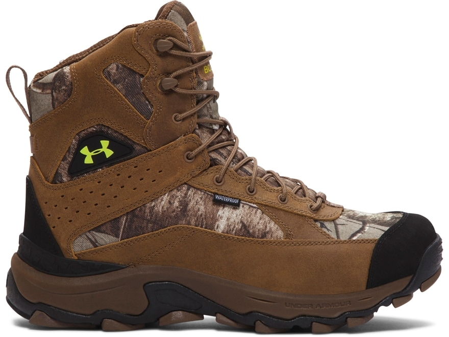 Fast Express Mens Boots - Under Armour Ua Wall Hanger Leather Mid Uniform/Black/Black