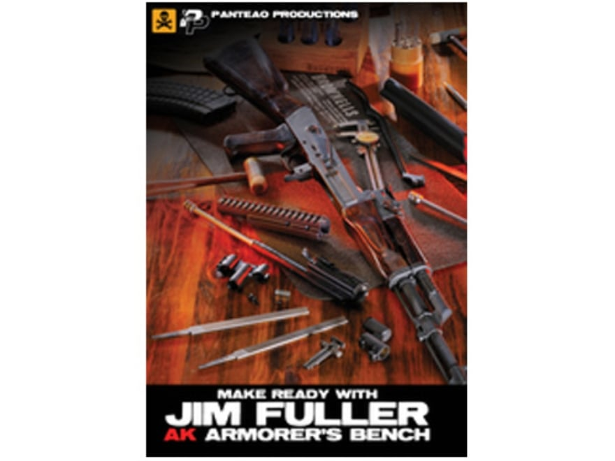 "Panteao ""Make Ready with Jim Fuller: AK Armorer's Bench"" DVD"