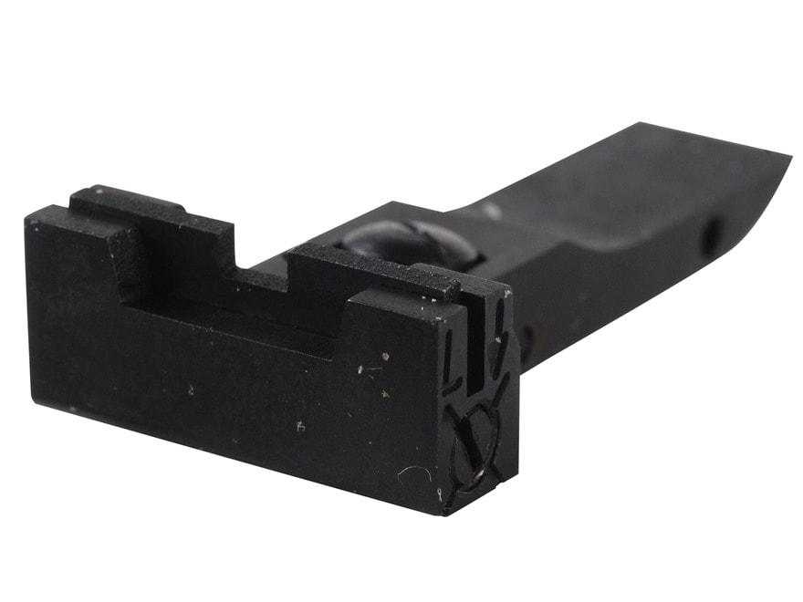 Kensight Adjustable Rear Sight Elliason Cut Steel Black Accro-Style Square Blade