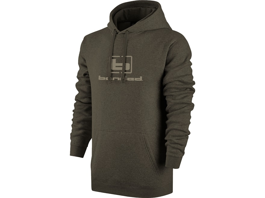 Banded Men's Logo Hoodie Polyester