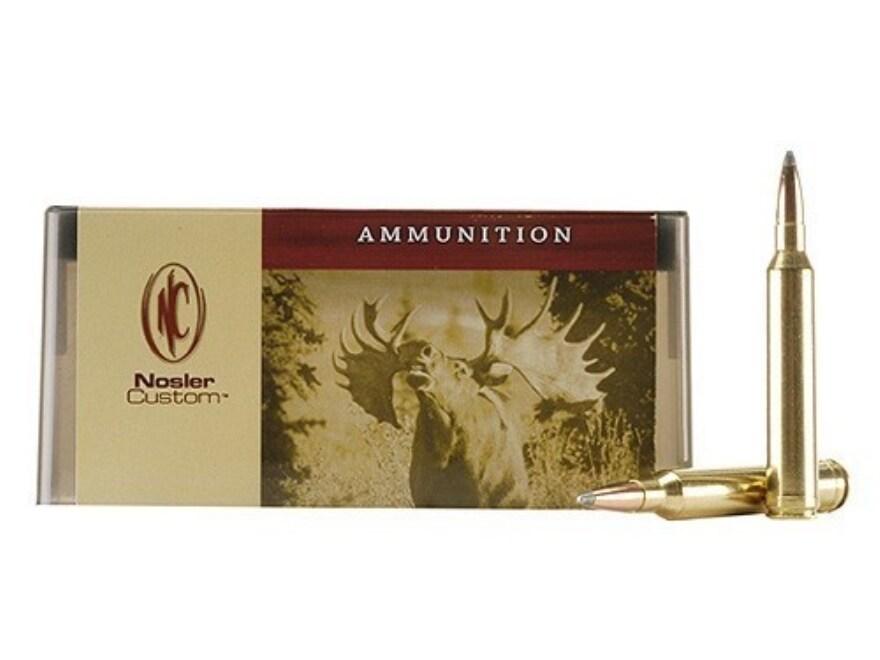 Nosler Custom Ammunition 7mm STW 160 Grain Partition Spitzer Box of 20