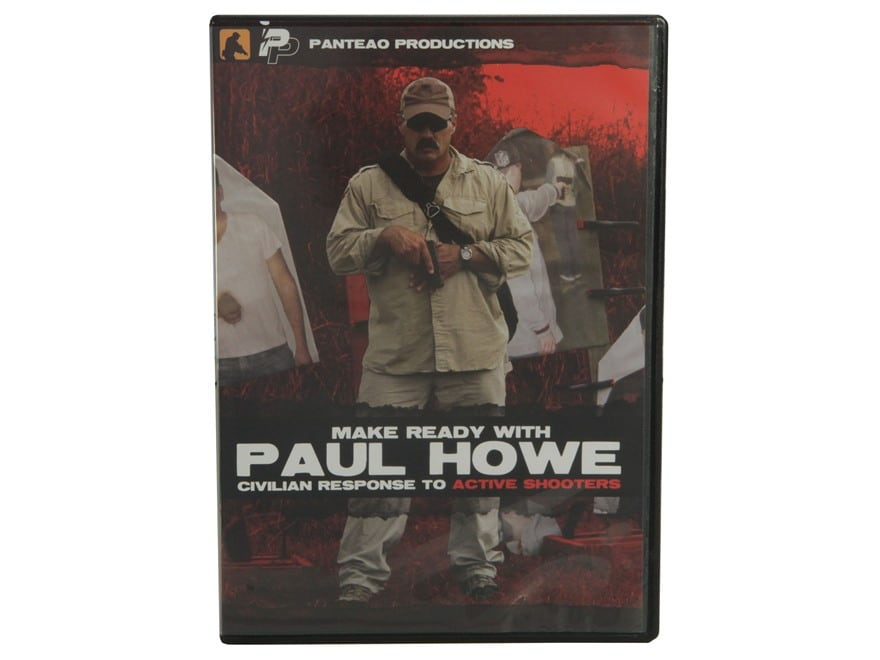 """Panteao """"Make Ready with Paul Howe: Civilian Response to Active Shooters"""" DVD"""