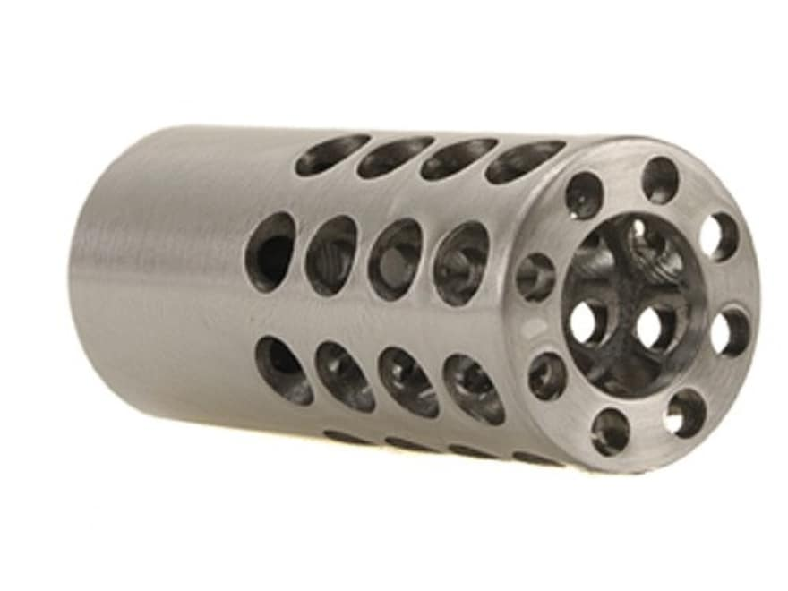 "Vais Muzzle Brake 7/8"" 458 Caliber 5/8""-32 Thread .875"" Outside Diameter x 2"" Length Steel"