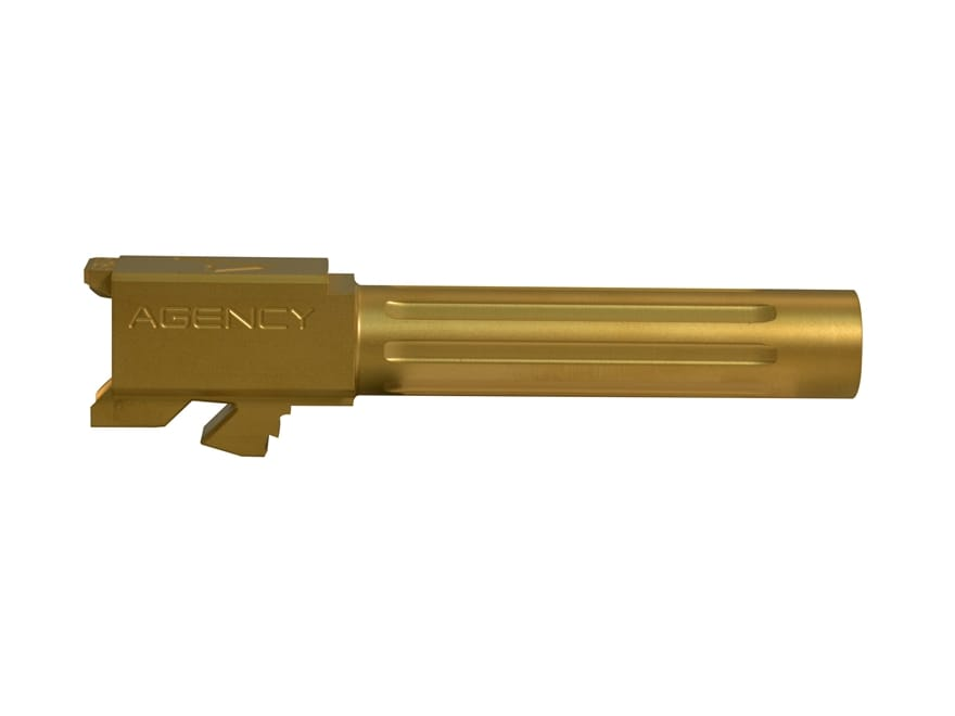 """Agency Arms Barrel Mid Line 9mm Luger 1 in 10"""" Twist Stainless Steel"""