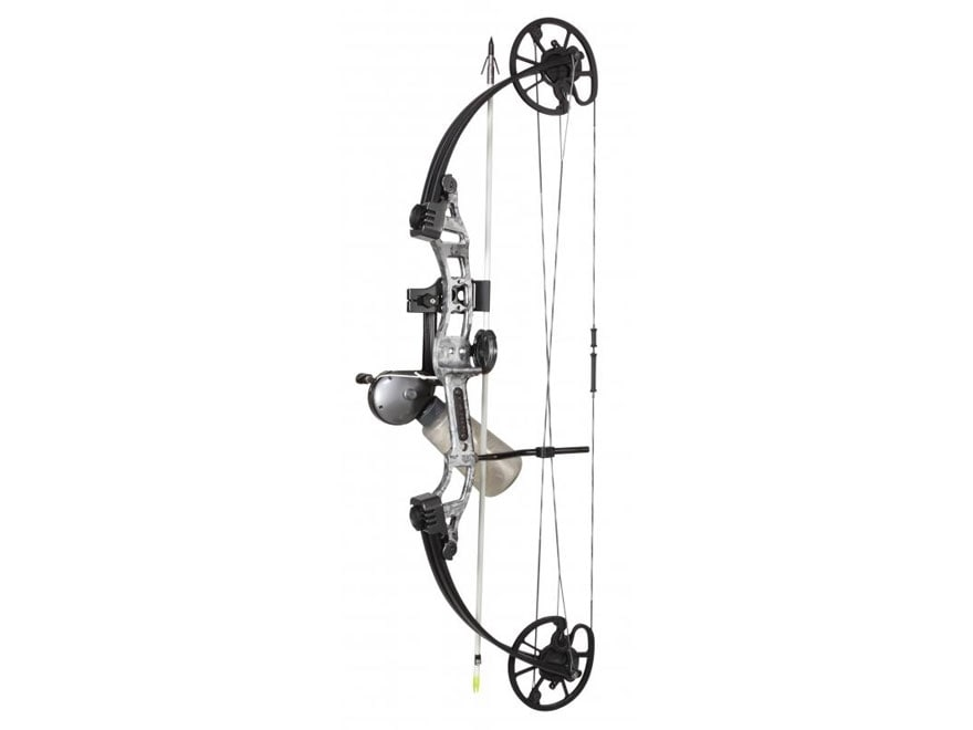 Cajun Archery Sucker Punch Bowfishing Compound Bow Package 50 lb Right Hand Gray