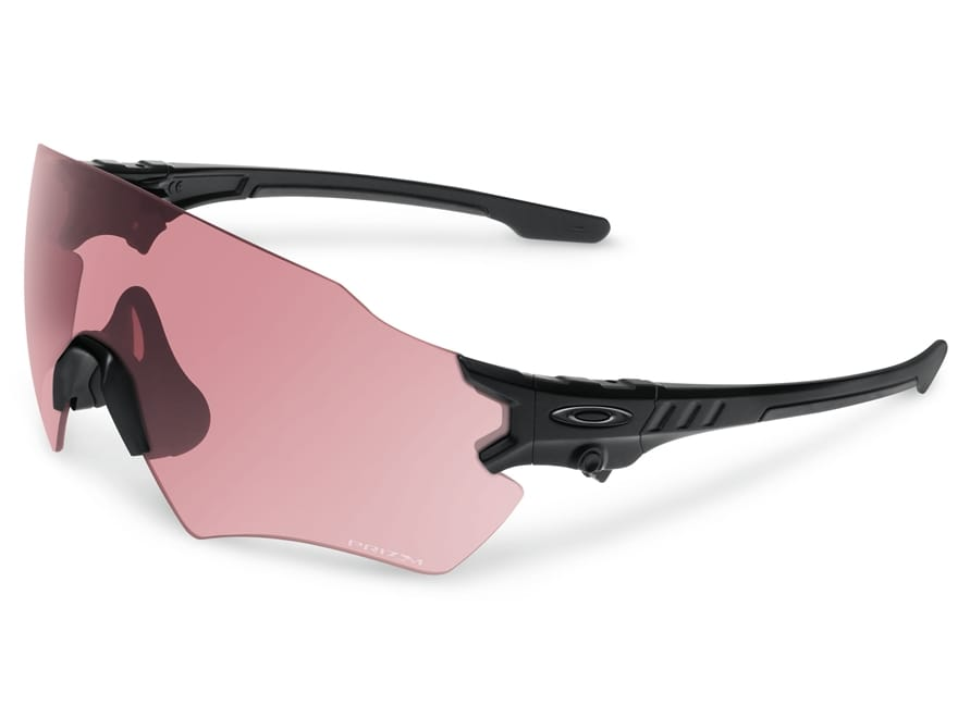 Oakley SI Tombstone Shooting Glasses Matte Black Reap Frame/Prizm TR45  Titanium Iridium.