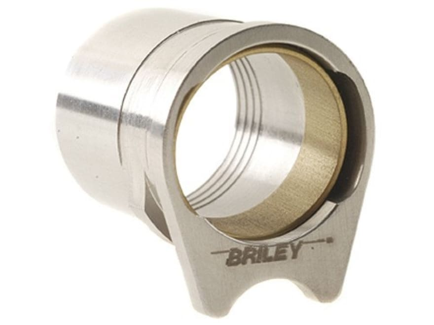 "Briley Oversized Spherical Barrel Bushing with .583"" Ring 1911 Government Stainless Steel"