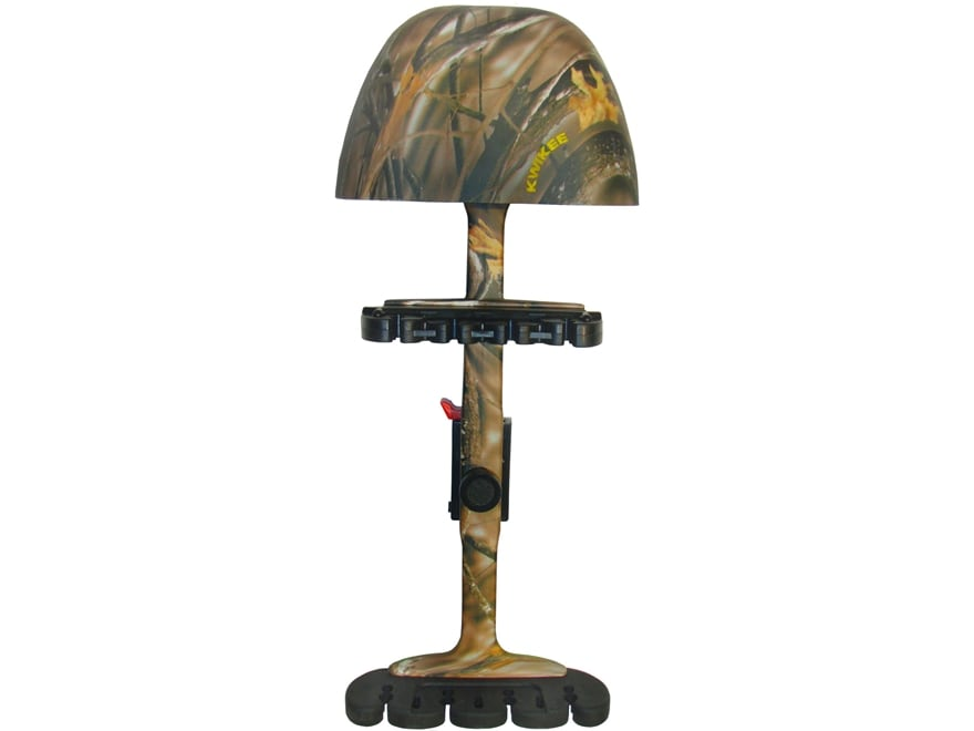 Kwikee Kwiver 4-Arrow Combo Bow Quiver Polymer Lost Camo