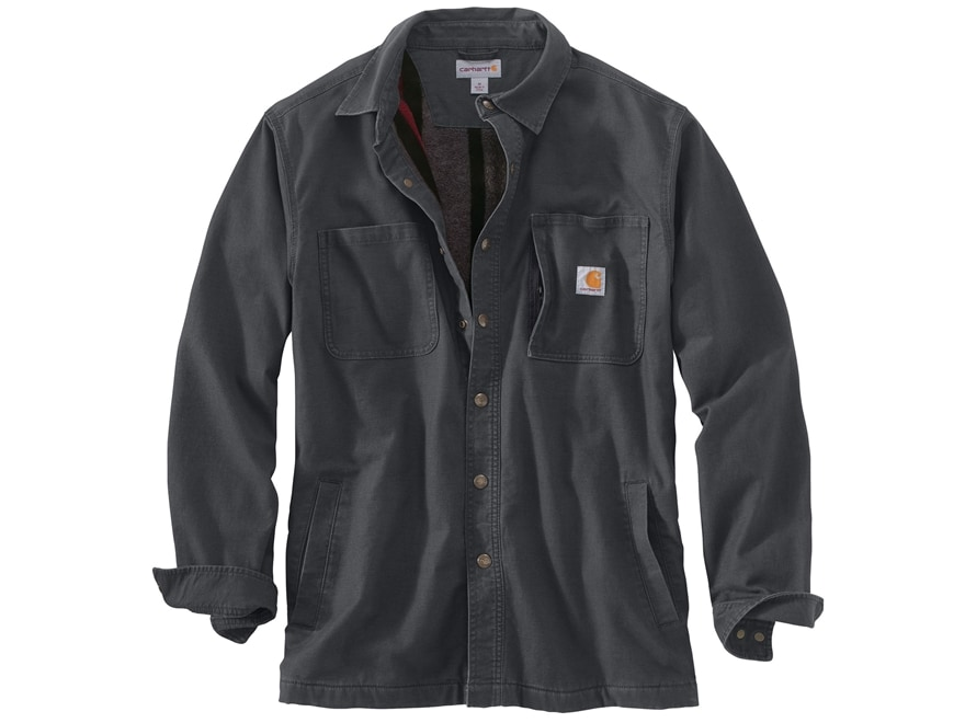 Carhartt Men's Rugged Flex Rigby Shirt Jac Cotton/Spandex