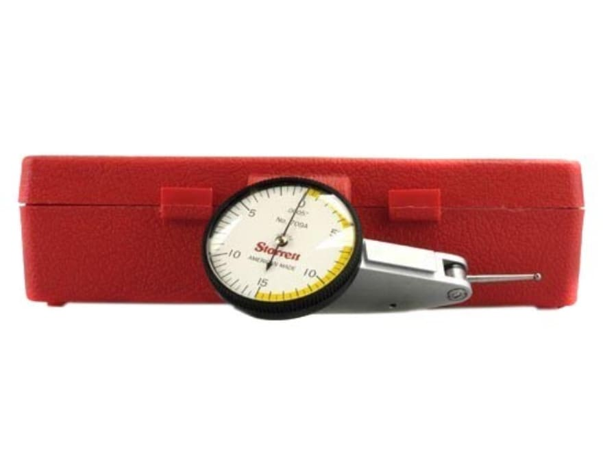 Starrett Dial Test Indicator with Dovetail Mount