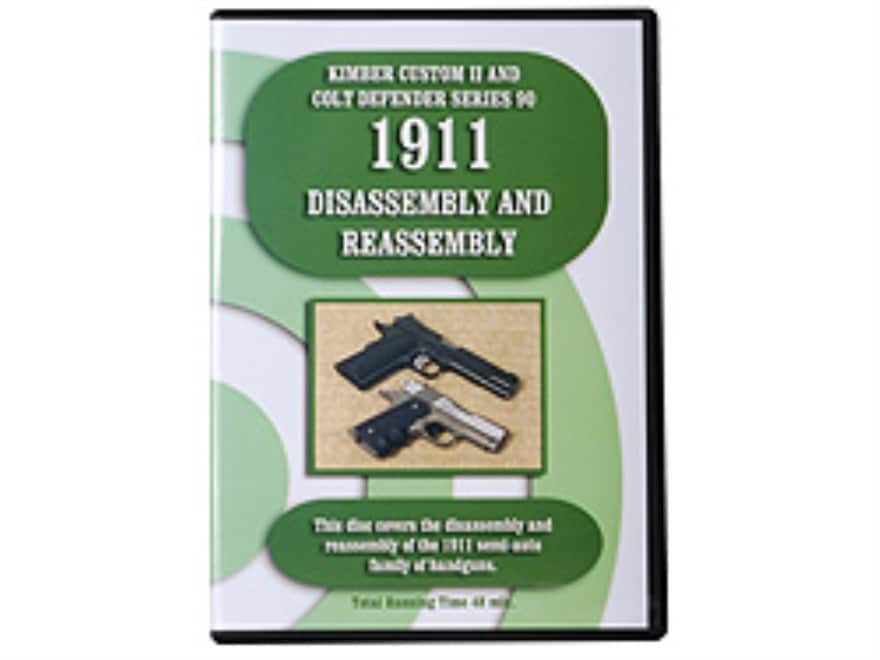 """1911 Series Disassembly & Reassembly"" DVD"