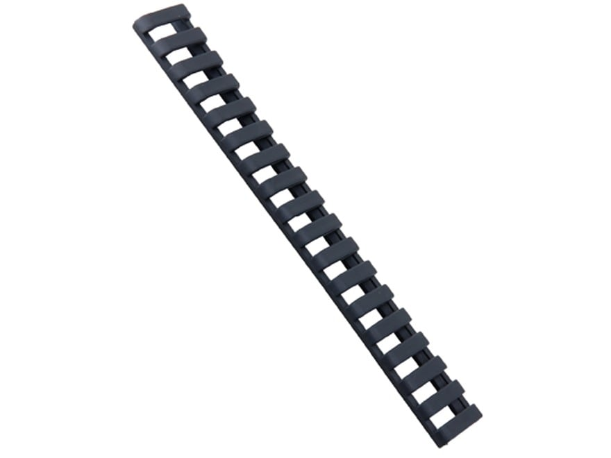 "ERGO 18-Slot Ladder Low Profile Picatinny Rail Cover 7"" Polymer Package of 3"