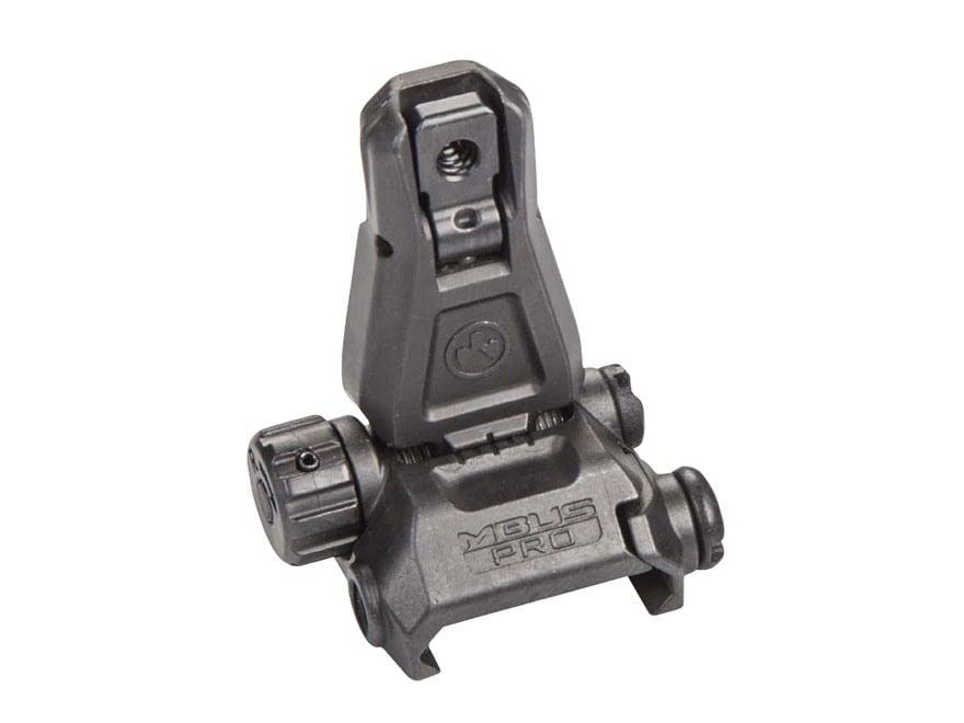 Magpul Flip Up Rear Sight MBUS Pro AR-15 Steel Black