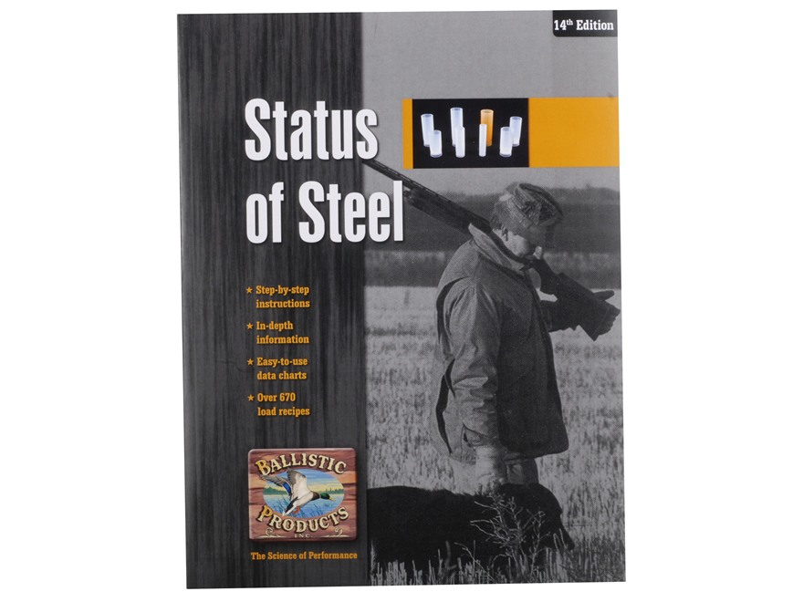 "BPI ""Status of Steel: Handloading Steel Shot: 14th Edition"" Shotshell Reloading Manual"
