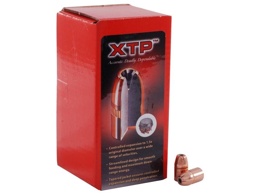 Hornady XTP Bullets 38 Caliber (357 Diameter) 158 Grain Jacketed Flat Nose Box of 100
