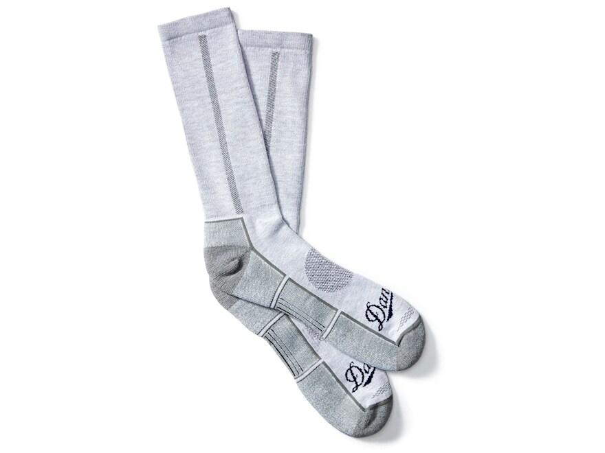 Danner Men's Lightweight Crew Hiking Socks Poly/Nylon/Merino Gray