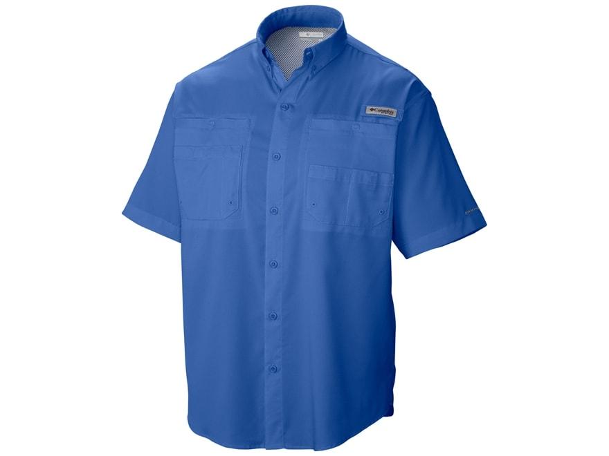 Columbia Men's PFG Tamiami II Button-Up Shirt Short Sleeve Polyester