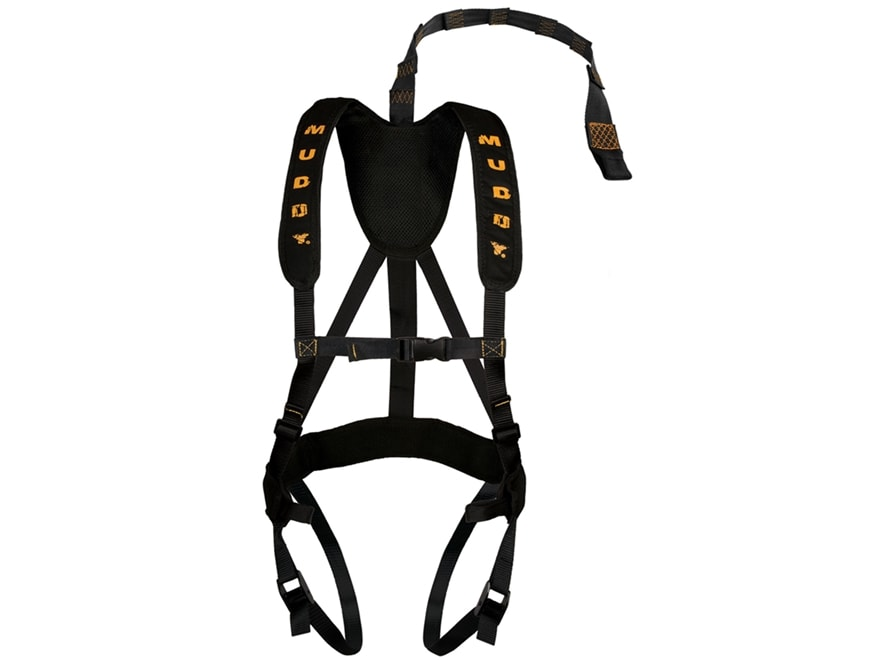 Muddy Outdoors Magnum Pro Treestand Safety Harness Nylon Black