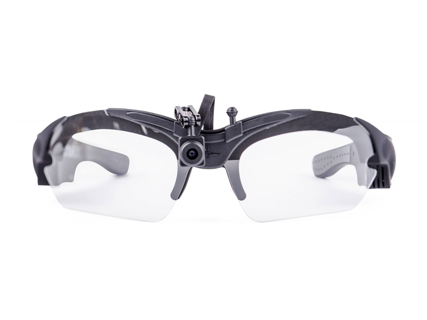 AimCam Action Video Glasses with Clear, Yellow and Smoke Lenses