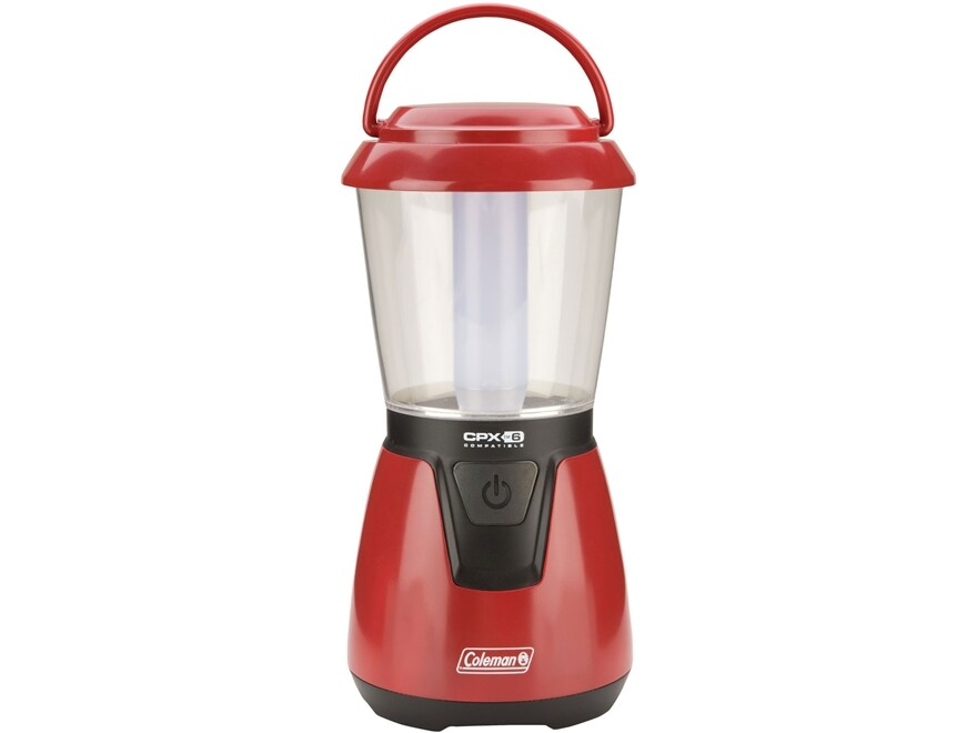 Coleman CPX 6 CLT Lantern LED Requires 4 D Batteries Polymer Red