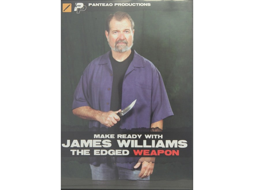 """Panteao """"Make Ready with James Williams:  The Edged Weapon"""" DVD"""
