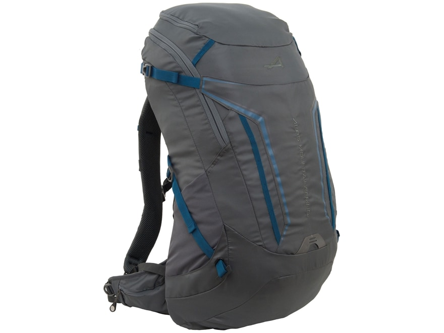 ALPS Mountaineering Baja 40 Backpack Polyester Gray and Blue
