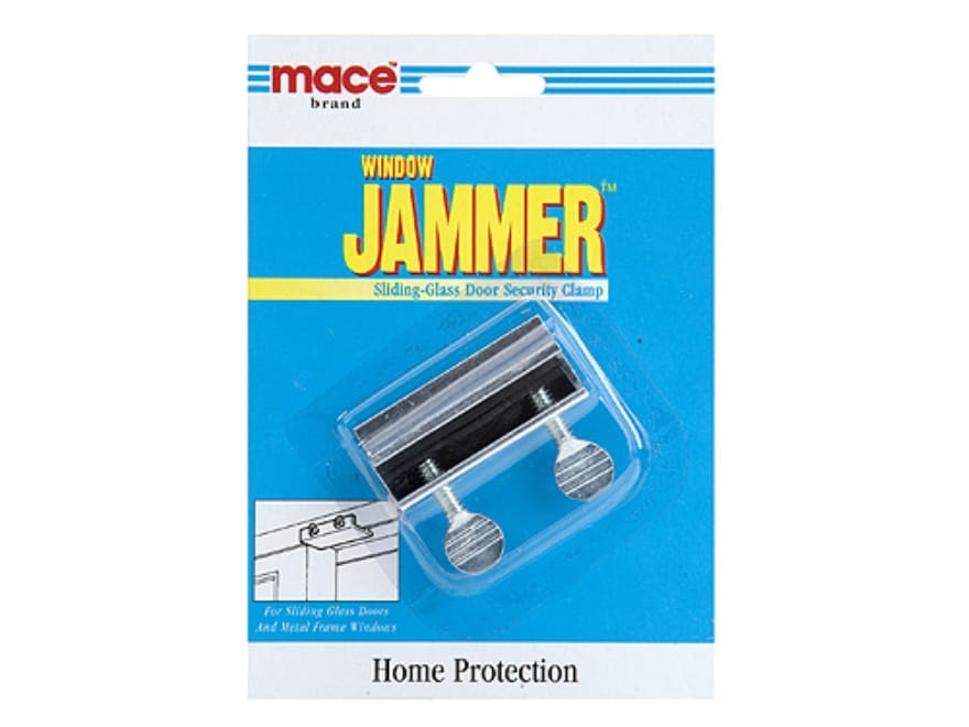 Mace brand sliding glass door security clamp home mpn 80124 mace brand sliding glass door security clamp home security steel planetlyrics Image collections