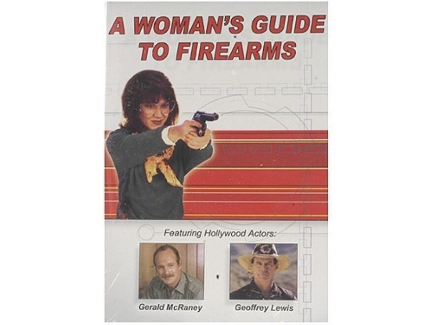 """Gun Video """"A Woman's Guide to Firearms"""" DVD"""