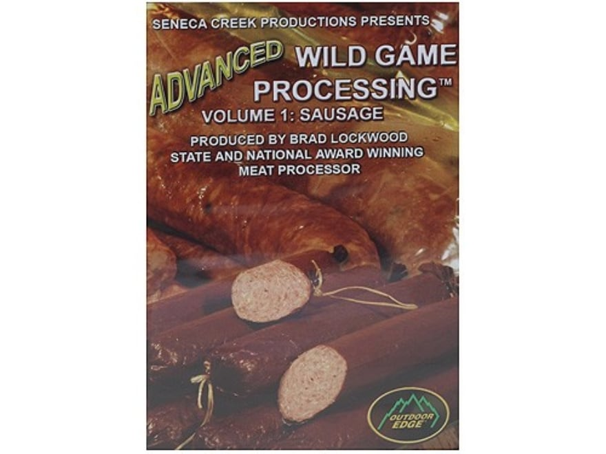 """Outdoor Edge Video """"Sausage: Advanced Game Processing Volume 1"""" DVD"""